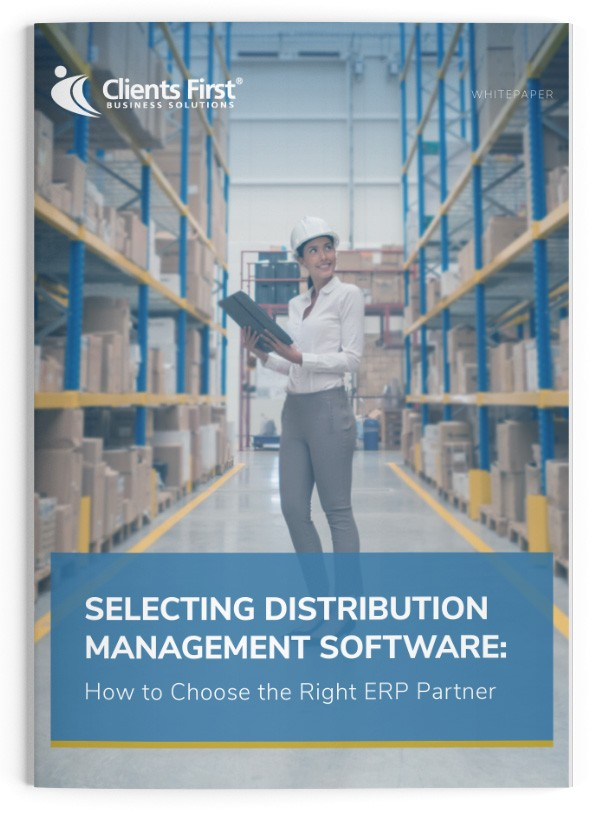 Selecting Distribution Management—How to Choose ERP Partner–Whitepaper