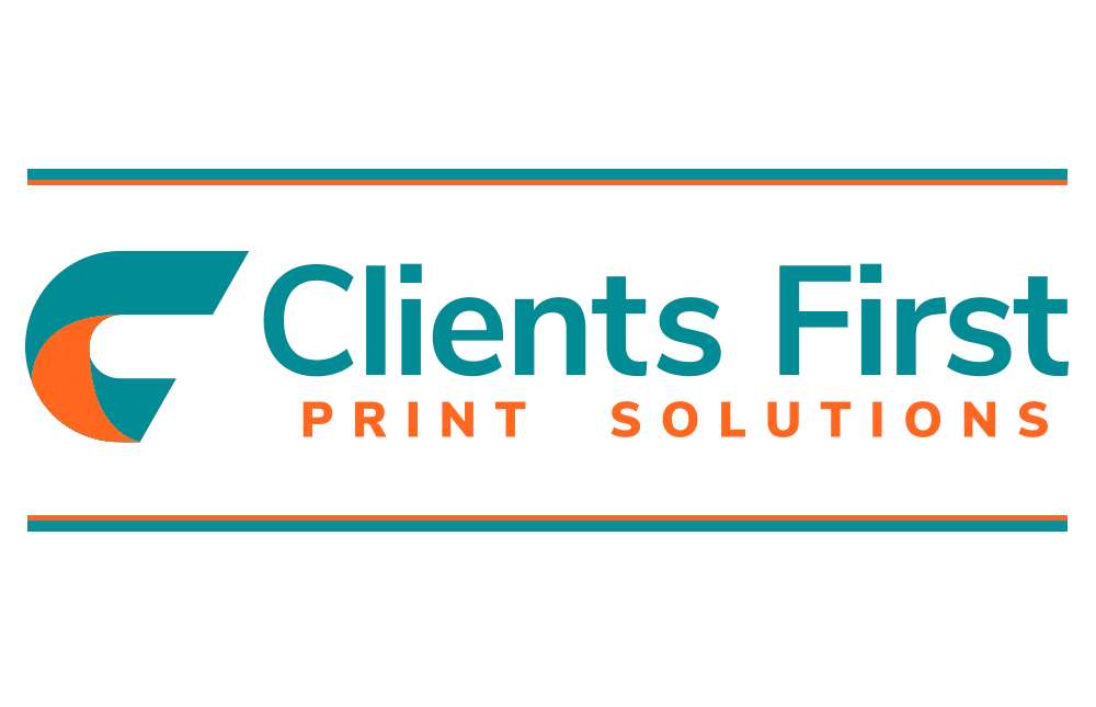 Clients First Print Solutions Logo