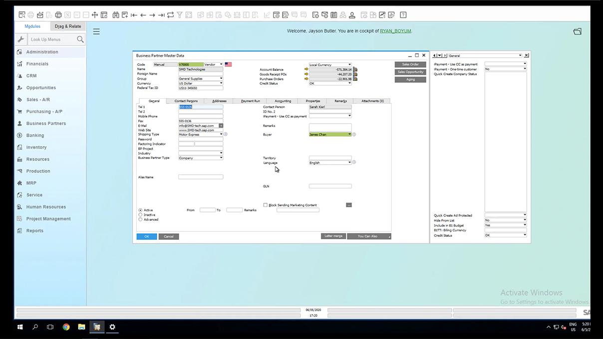 Screenshot_Boyum Usability Package Mandatory Field