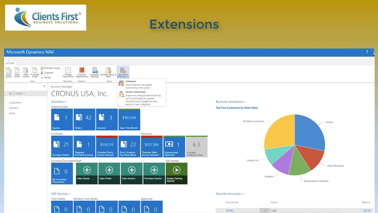 Screenshot_Dynamics NAV 2017 Extensions